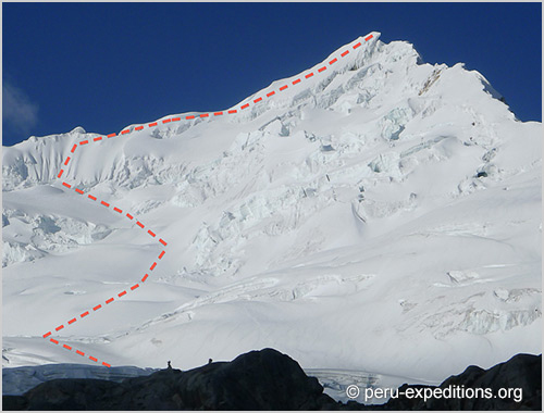 Peru: Expedition Nevados Yanapaccha (5450 m), Pisco (5752 m) & Chopicalqui (6354 m)